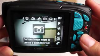 Canon D20 Power Shoot Camera, Close Up, Menu & Unboxing Video