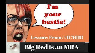 Big Red is an MRA - Lessons from ICMI18