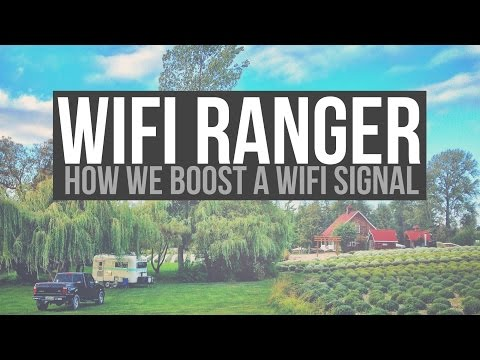 WiFi Ranger for Fulltime RVing - a Drivin' & Vibin' Review - Wifi Booster