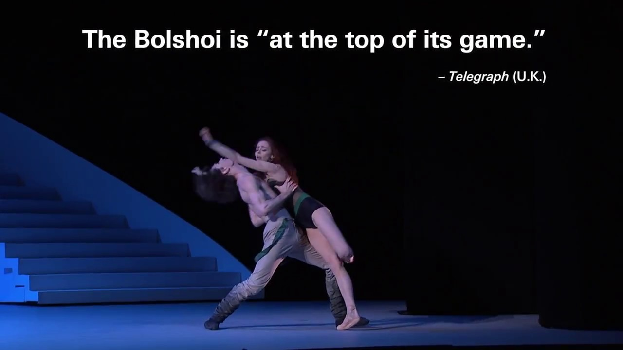 Lincoln Center Festival: Bolshoi Ballet – The Taming of the Shrew Teaser