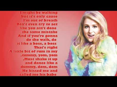 Meghan Trainor   Walkashame lyrics