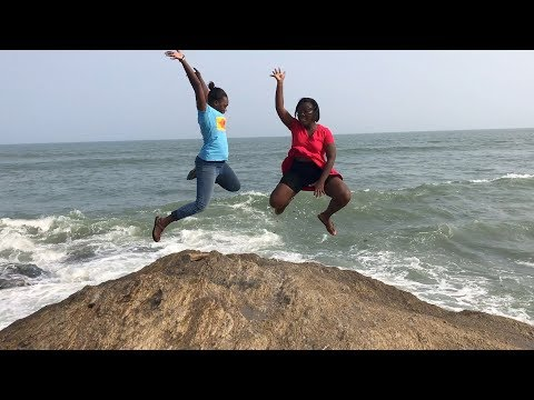 GHANA VLOG 2017 #23 || Discovering New Beach in Tema || Villa Posillipo Beach Sakumono || Adede