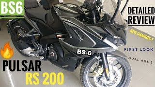 2020 BAJAJ PULSAR RS 200 BS6 DETAILED REVIEW | Price | Mileage | DUAL ABS | Exhaust | PULSAR RS 200