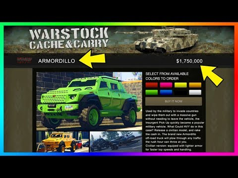 "GTA 5 HVY Armordillo Reinforced Armored 4X4 Off-Road Truck ""Civilian Insurgent"" Military Vehicle!"