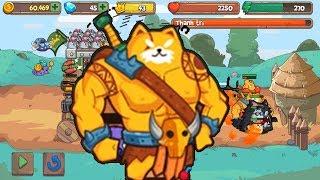 Mèo Con Tiến Hóa Hiệp Sĩ Cơ Bắp| Grow Castle Cat |Cat