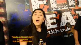 "FLIP EAT: FILIPINO RAP! ""NASA ATING PUSO"" BY P PRIDE 208"