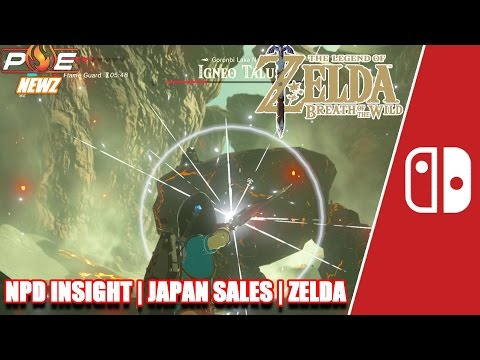 Nintendo Switch - NPD: 2nd Biggest Launch, ZELDA Sales, PS4 vs NS Japan Sales & MORE! | PE NewZ