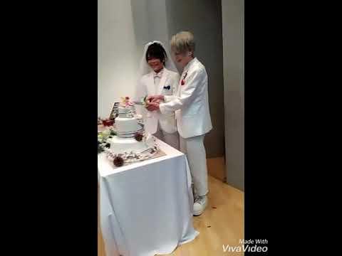 Yuri on ice fan event  - Victuuri wedding PT 2