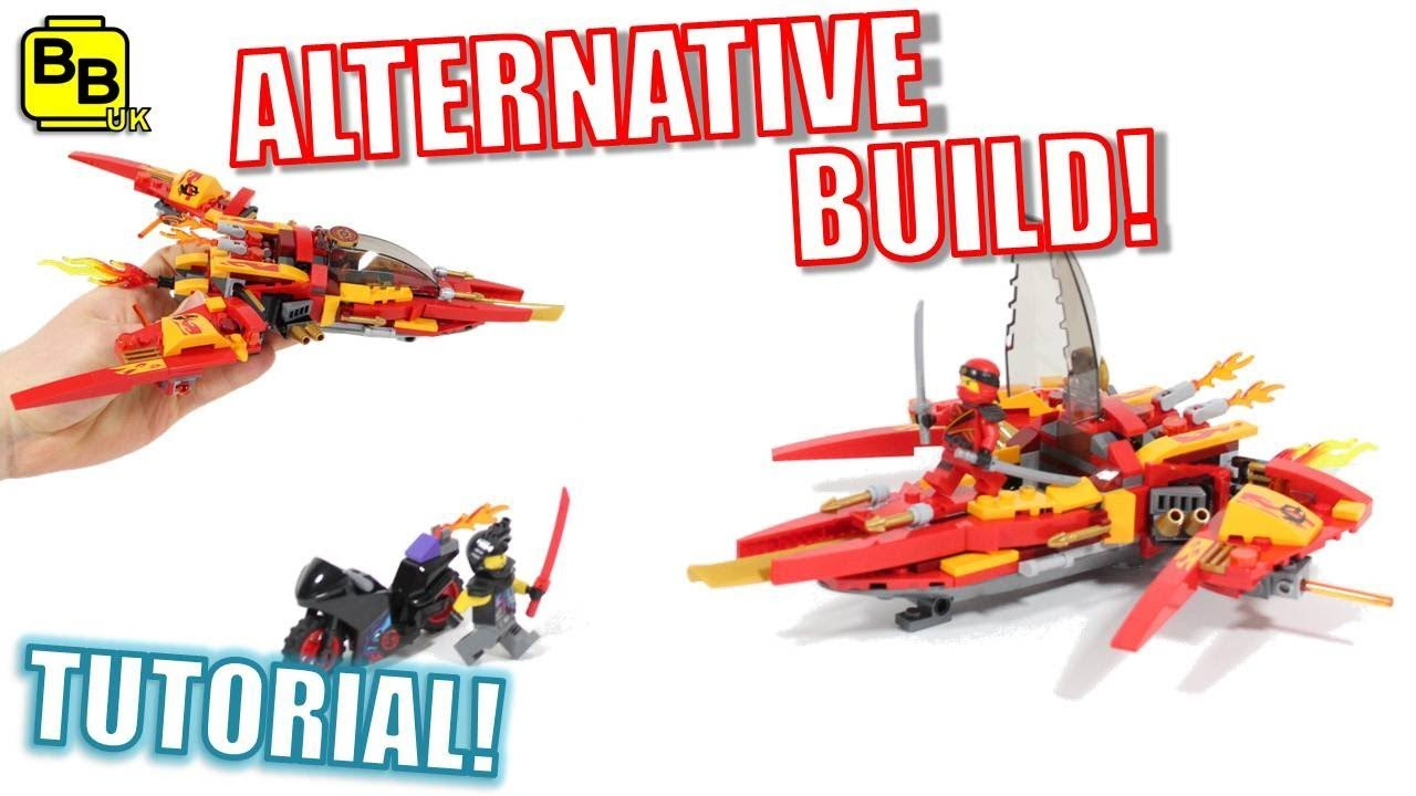 Lego Ninjago 70638 Alternative Build Kai S Phoenix Fighter Youtube