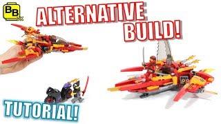 LEGO NINJAGO 70638 ALTERNATIVE BUILD KAI'S PHOENIX FIGHTER!