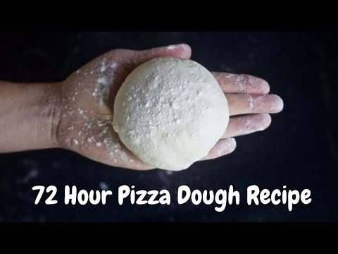 72 Hour Pizza Dough Recipe