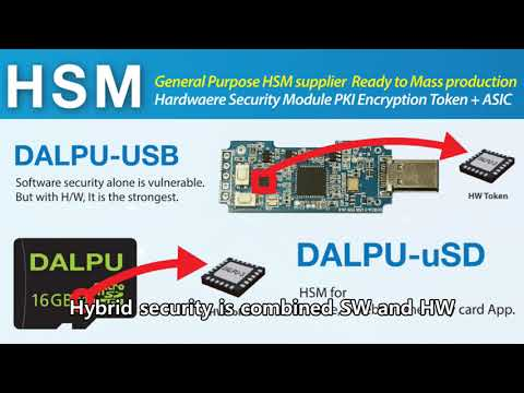 DALPU, the NEOWINE HSM  for PC, Phone, Linux, Raspberry Pi