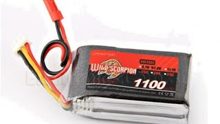 Battery review lipo 2s for rc wpl