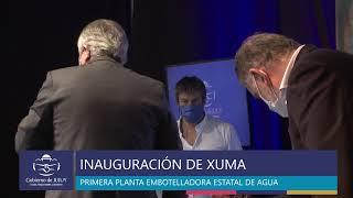 VIDEO: Inauguran Xuma, la nueva Planta Embotelladora de Agua de Mesa de Jujuy