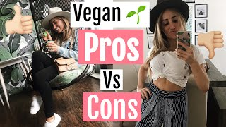 Vegan PROS + CONS// What I like and DON