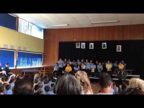 William Palmer end of year presentation Llandough Primary School 2014