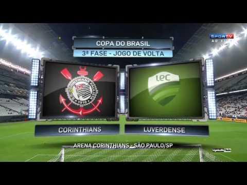 Melhores Momentos - Corinthians 1 x 1 Luverdense - Copa do Brasil 3ª Fase Volta (16/03/2017)