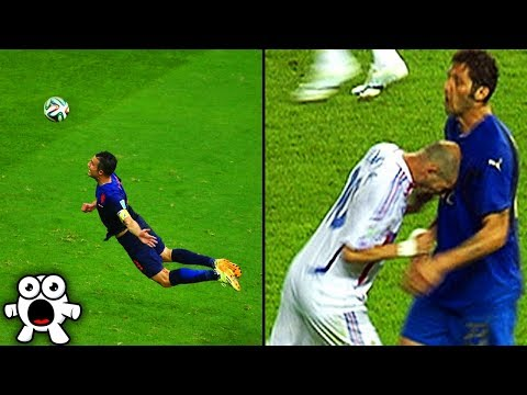 Shocking World Cup Football Moments