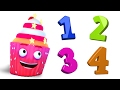 Number Song |  Learn to Count 1 to 10 | Counting Song | WooHoo Rhymes |  Number Rhymes For Children