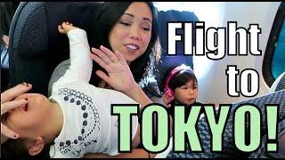 10 Hour Flight to Tokyo! - Nov 08, 2015 -ItsJudysLife Vlogs