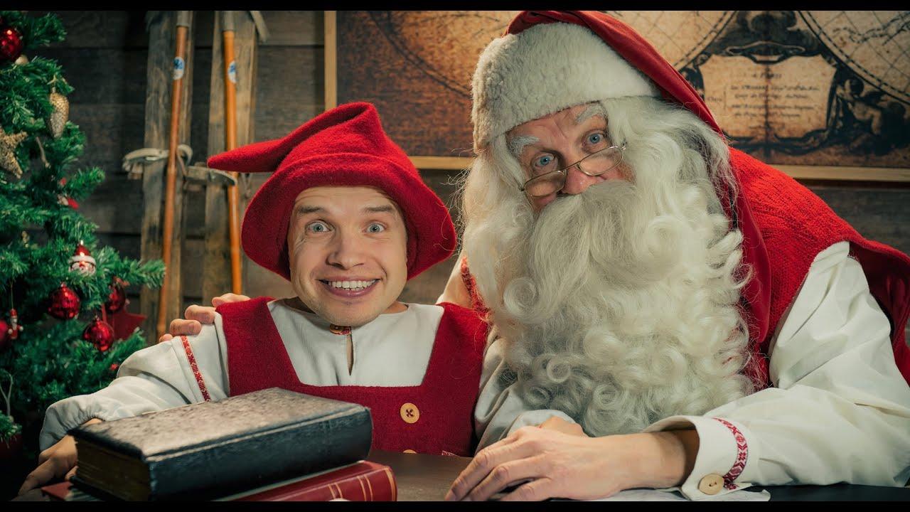 Santa /& His Elves