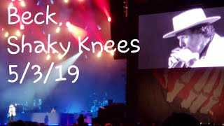 "Beck ""Saw Lightning"" (Premiere with Old Town Road tease) 5/3/19 Shaky Knees  Atlanta, Georgia"