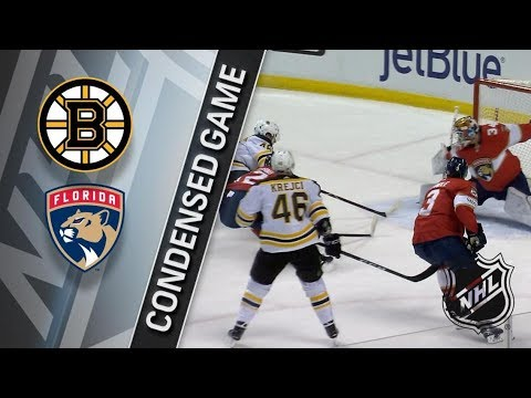 Boston Bruins vs Florida Panthers – Mar. 15, 2018 | Game Highlights | NHL 2017/18. Обзор