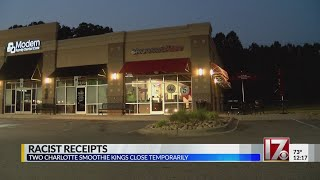 NC Smoothie King employees fired after using racist language on receipts