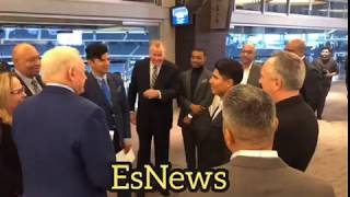 Cowboys owner meets Mikey Garcia and Errol Spence - esnews