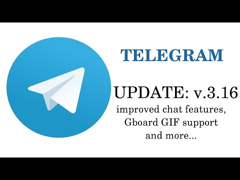 Telegram Update 3.16: Improved Chat Features, Gboard GIF Support, Revoke Messages And More😀