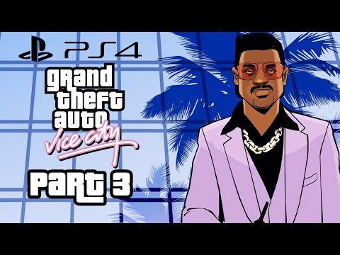Grand Theft Auto Vice City PS4 Gameplay Walkthrough Part 3 - RC HELICOPTER (GTA Vice City PS4)