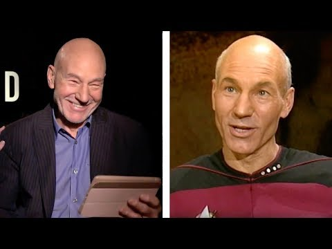 Star Trek: Picard: Patrick Stewart REACTS to His First 'Next Generation' Interview From 1987!