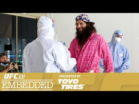 UFC 251 Embedded: Vlog Series - Episode 2