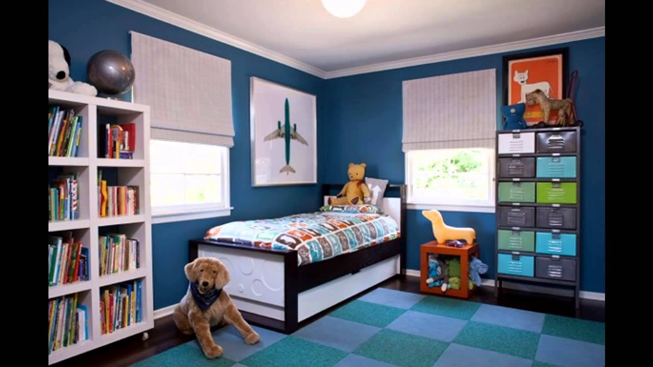 Cool boy bedroom design ideas youtube for Funky boys bedroom ideas