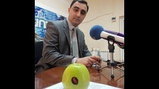 Բաբկեն Պիպոյանը ադրբեջանական խնձորով ֆոկուս արեց