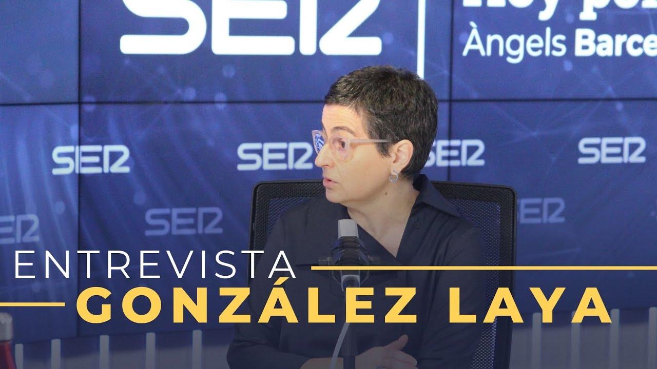 Entrevista a Arancha González Laya en Hoy por Hoy (29-06-2020)