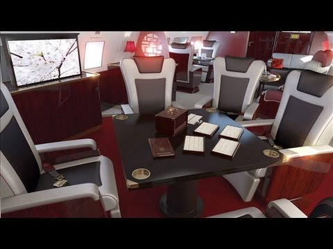 New Asian Wealthy Buying Tricked Out Private Jets