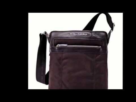 nuovo stile c9760 cd1a0 Piquadro Borsa Messenger Uomo organizzata con porta pc e iPad