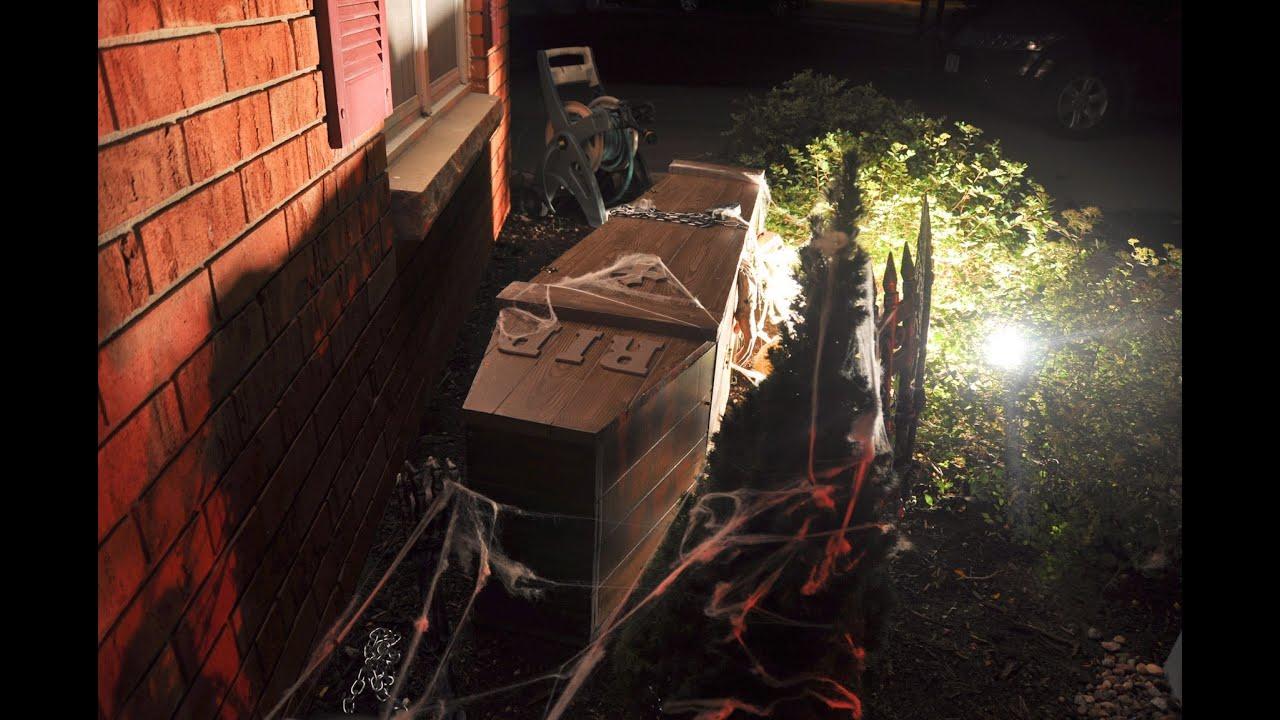 3rdi diy halloween coffin build