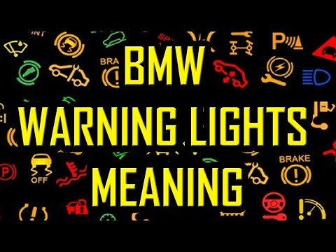 Bmw Dash Light Meanings Iron Blog
