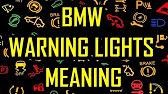BMW E Dashboard Warning Lights YouTube - Warning signs on bmw dashboard