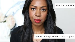 What They Don't Tell You About Hair Relaxers! Dominique - Style Domination
