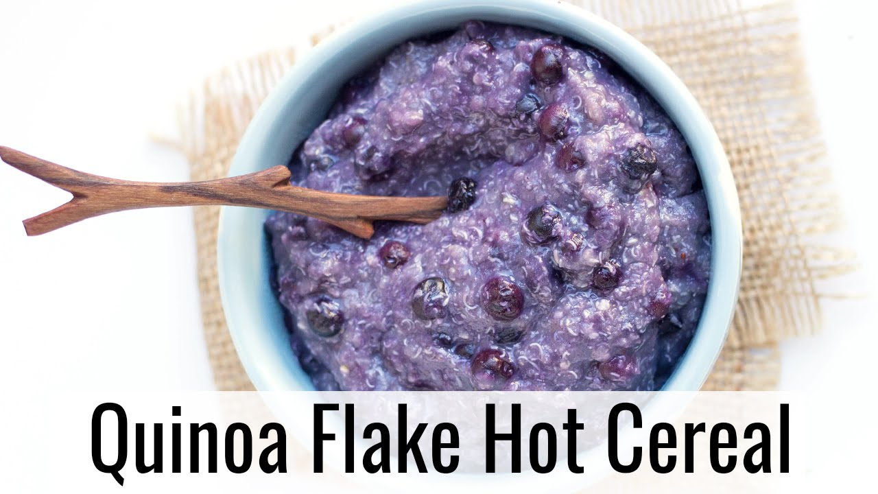 Easy quinoa flakes hot cereal youtube easy quinoa flakes hot cereal ccuart Choice Image