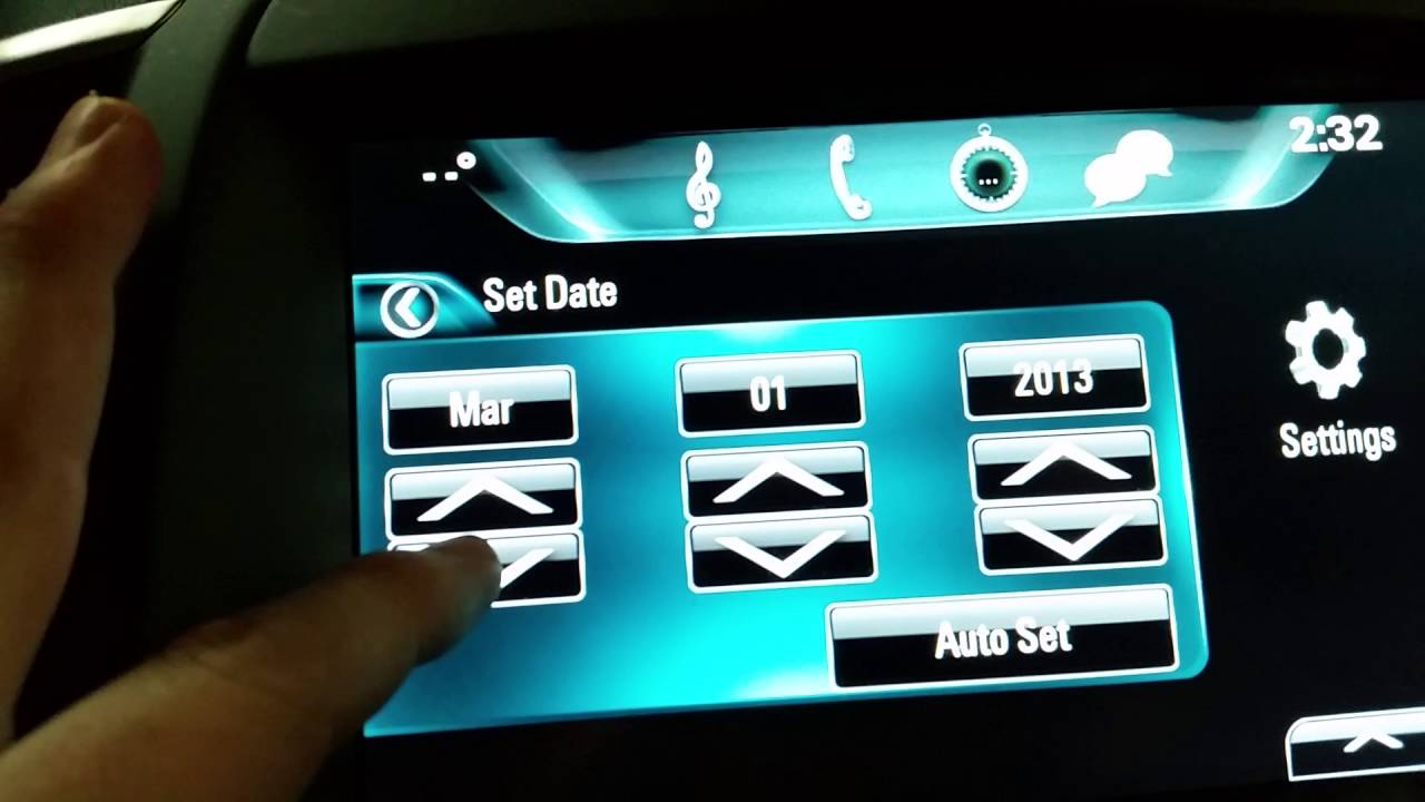 Buick LaCrosse: Display Settings