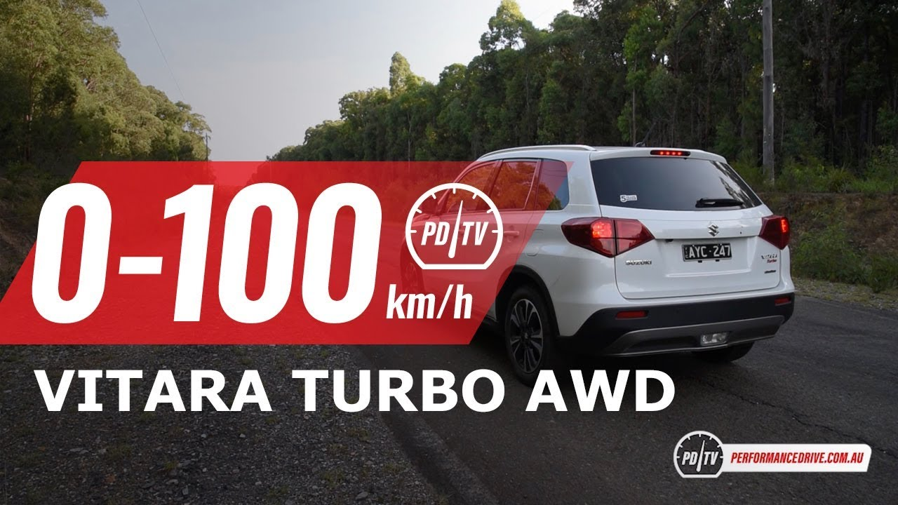 2019 Suzuki Vitara Turbo AWD 0-100km/h & engine sound