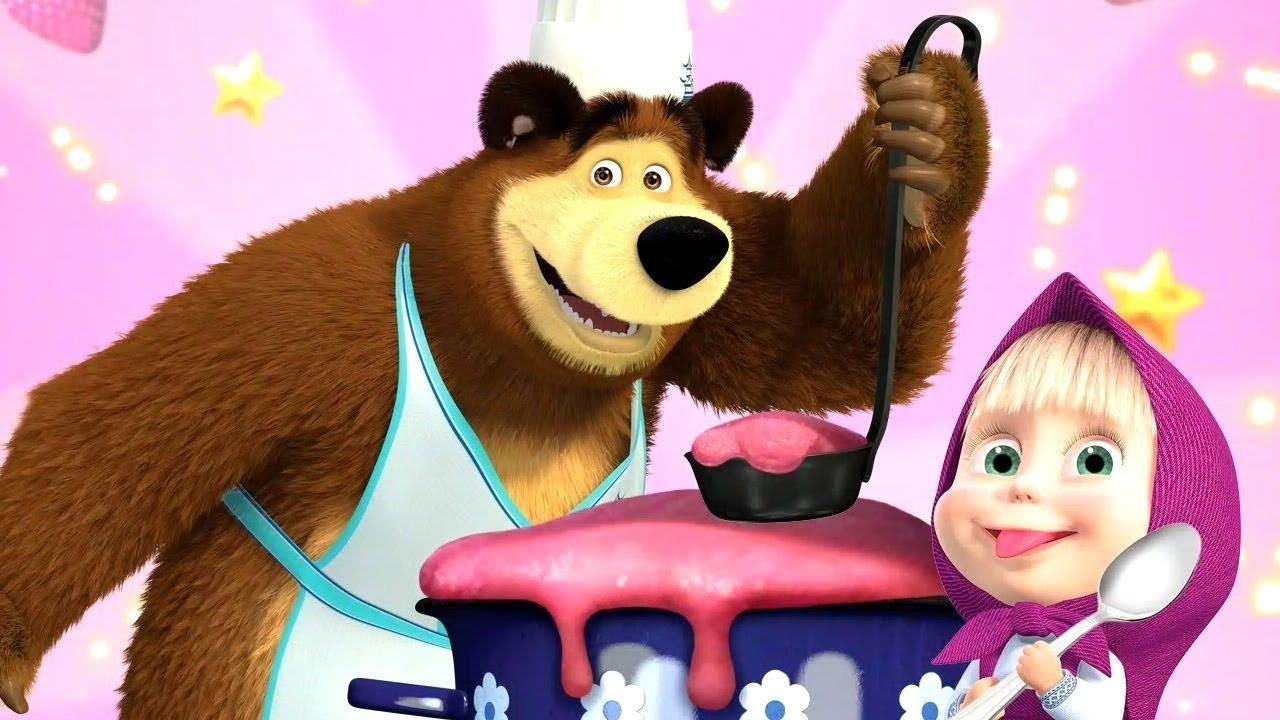 Cô bé masha và chú gấu xiếc | Học song ngữ anh việt với masha và chú gấu  xiếc