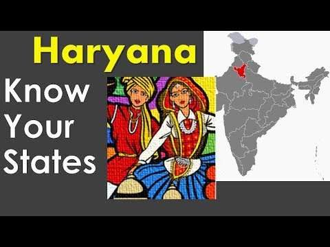 Haryana GK - Information about Haryana state - General Knowledge for Entrance Exams