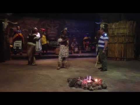 Lesedi Cultural Village - african dance show