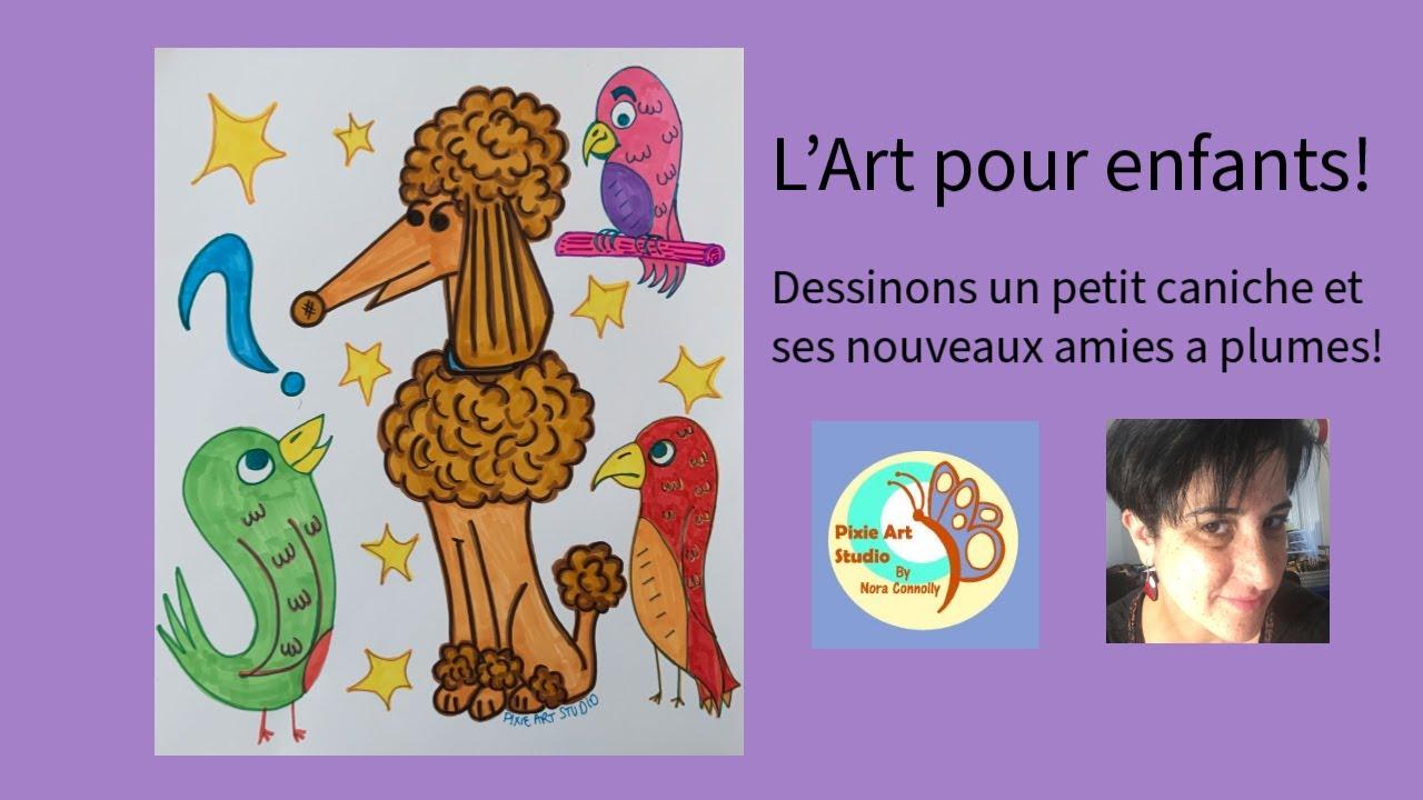Kids Art in French! - L'art pour enfants!