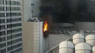 Крупный пожар вспыхнул в центре Бангкока